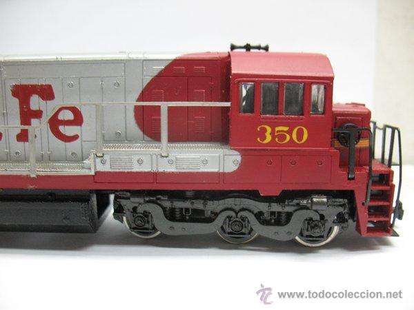 Trenes Escala: Rivarossi,Locomotora Diesel Americana,Santa Fe,escala Ho,Dc - Foto 2 - 46150617