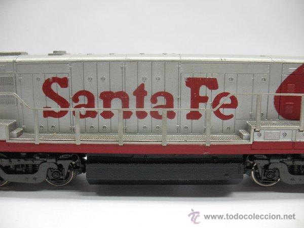 Trenes Escala: Rivarossi,Locomotora Diesel Americana,Santa Fe,escala Ho,Dc - Foto 3 - 46150617