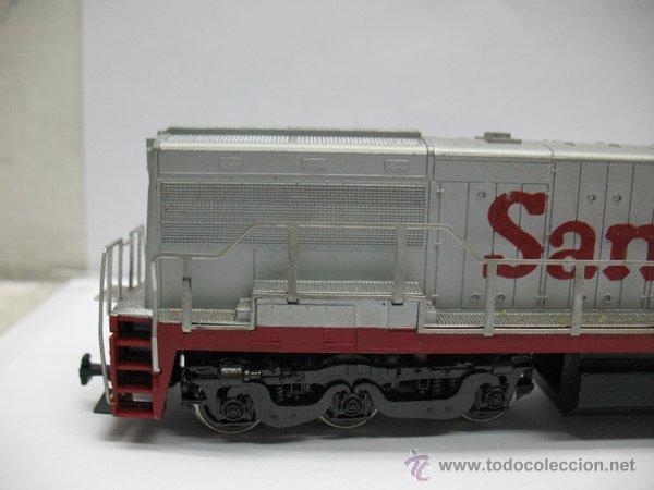 Trenes Escala: Rivarossi,Locomotora Diesel Americana,Santa Fe,escala Ho,Dc - Foto 4 - 46150617