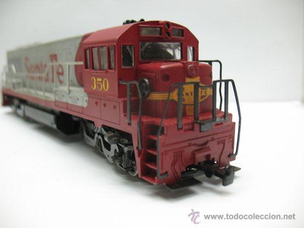 Trenes Escala: Rivarossi,Locomotora Diesel Americana,Santa Fe,escala Ho,Dc - Foto 5 - 46150617
