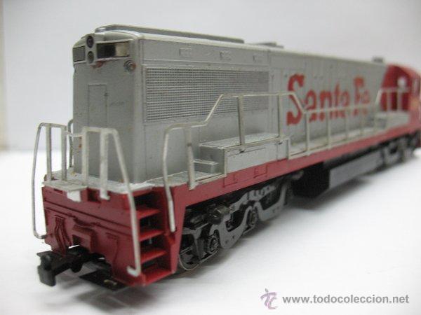 Trenes Escala: Rivarossi,Locomotora Diesel Americana,Santa Fe,escala Ho,Dc - Foto 6 - 46150617