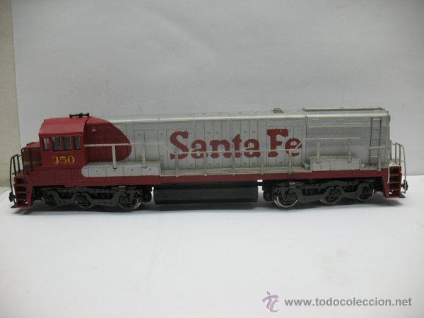 Trenes Escala: Rivarossi,Locomotora Diesel Americana,Santa Fe,escala Ho,Dc - Foto 7 - 46150617