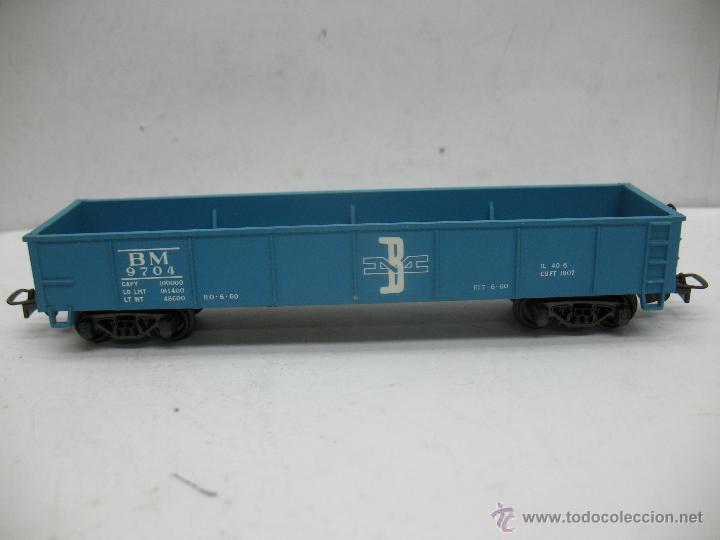 Trenes Escala: Rivarossi - Vagón de mercancías abierto BM 9704 - Escala H0 - Foto 2 - 50150087