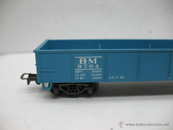 Trenes Escala: Rivarossi - Vagón de mercancías abierto BM 9704 - Escala H0 - Foto 3 - 50150087