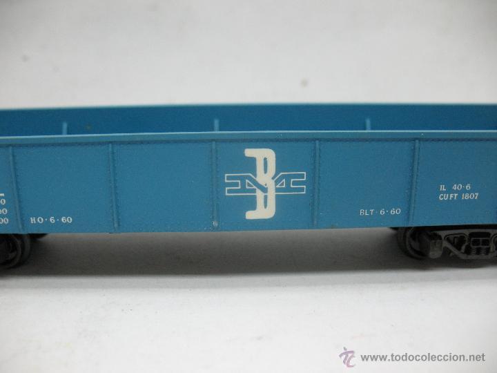 Trenes Escala: Rivarossi - Vagón de mercancías abierto BM 9704 - Escala H0 - Foto 4 - 50150087