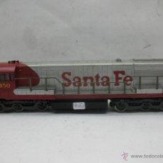 Trenes Escala: RIVAROSSI - LOCOMOTORA DIESEL AMERICANA SANTA FE 350 CORRIENTE CONTINUA - ESCALA H0. Lote 54072387