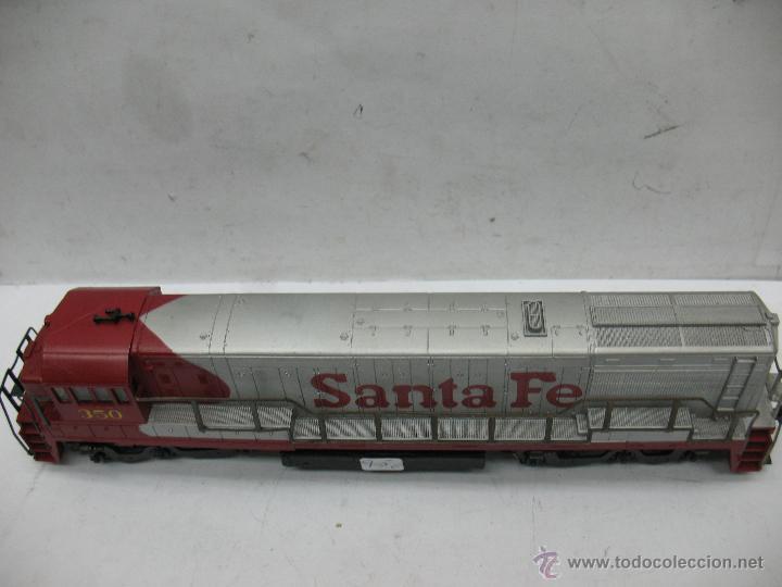 Trenes Escala: Rivarossi - Locomotora Diesel americana Santa Fe 350 corriente continua - Escala H0 - Foto 5 - 54072387