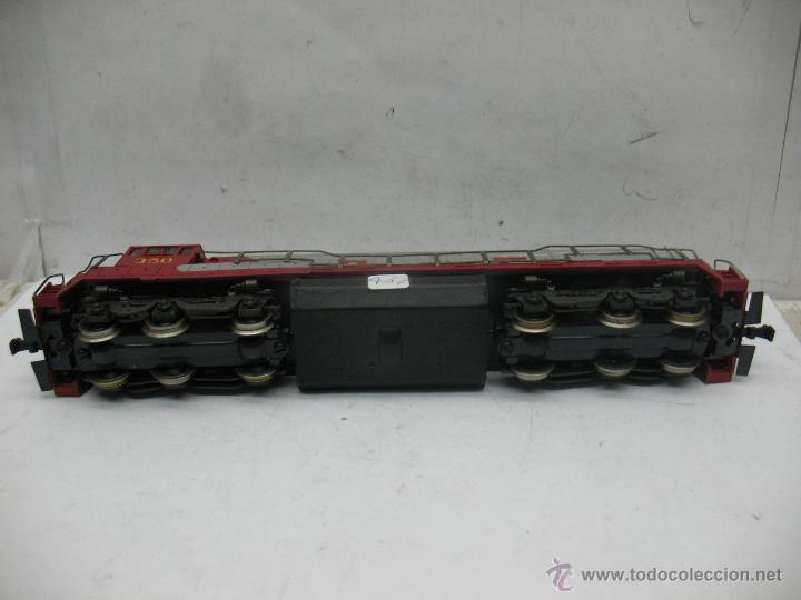 Trenes Escala: Rivarossi - Locomotora Diesel americana Santa Fe 350 corriente continua - Escala H0 - Foto 7 - 54072387