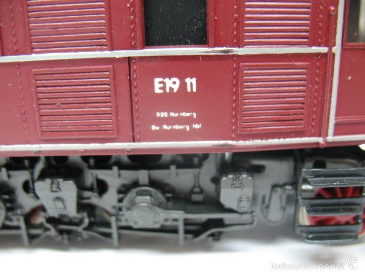 Trenes Escala: Rivarossi - Locomotora eléctrica E19 11 corriente continua - Escala H0 - Foto 5 - 57987535