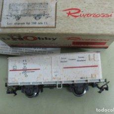Trenes Escala: VAGON FRIGO RIVAROSOSSI TIPO TRANSFESA. Lote 62997644