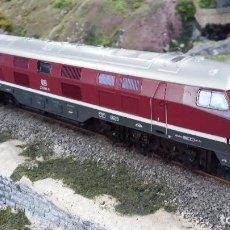 Trenes Escala: LOCOMOTORA DIESEL V232 DB H0 DIGITAL RIVAROSSI. Lote 71150627