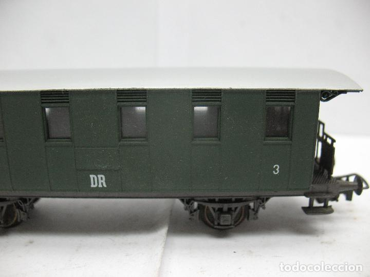 Trenes Escala: Rivarossi - Coche de pasajeros 357-260 de la DR 3 - Escala H0 - Foto 4 - 79875033