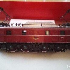 Trenes Escala: LOCOMOTORA RIVAROSSI E19 11 DR PANTOGRAFOS LOGO IMPERIALES ALTERNA PATIN MARKLIN. Lote 81934920