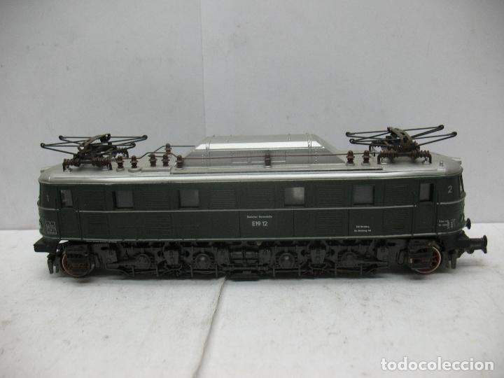 Trenes Escala: Rivarossi - Locomotora eléctrica E19 12 corriente continua - Escala H0 - Foto 2 - 87310992