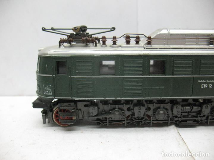 Trenes Escala: Rivarossi - Locomotora eléctrica E19 12 corriente continua - Escala H0 - Foto 3 - 87310992