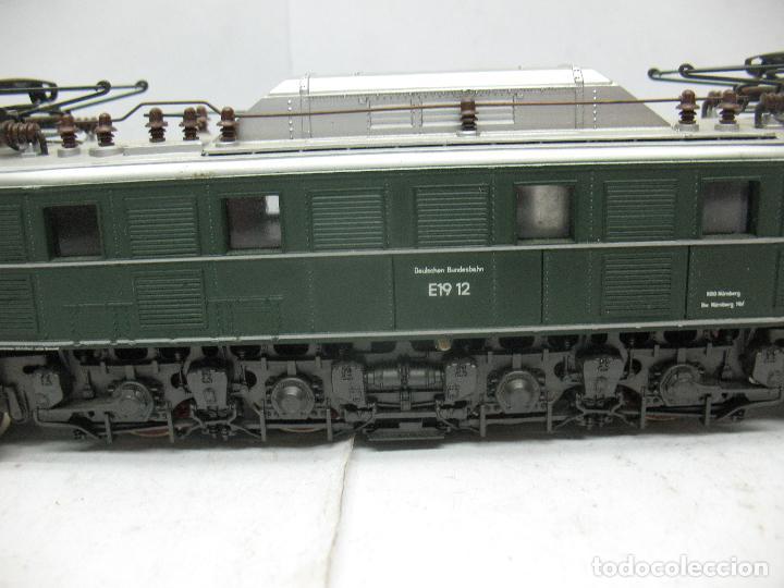 Trenes Escala: Rivarossi - Locomotora eléctrica E19 12 corriente continua - Escala H0 - Foto 4 - 87310992