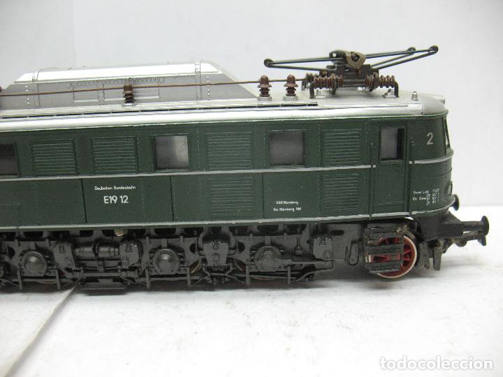 Trenes Escala: Rivarossi - Locomotora eléctrica E19 12 corriente continua - Escala H0 - Foto 5 - 87310992
