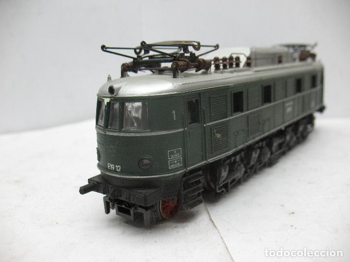 Trenes Escala: Rivarossi - Locomotora eléctrica E19 12 corriente continua - Escala H0 - Foto 6 - 87310992