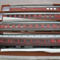 Trenes Escala - Rivarossi - Lote de cuatro vagones de plástico americanos The Alton Limited - Escala H0 - 97837290