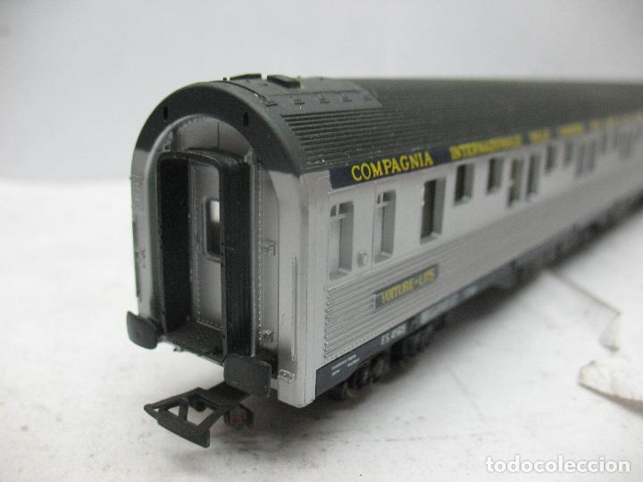 Trenes Escala: Rivarossi - Coche de pasajeros cama 4569 COMPAGNIA INTERNAZIONALE - Escala H0 - Foto 6 - 98763363