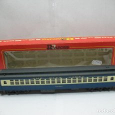 Trenes Escala: RIVAROSSI REF: 2648 - COCHE DE PASAJEROS AMERICANO THE BLUE COMET WESTPHAL - ESCALA H0. Lote 99927179