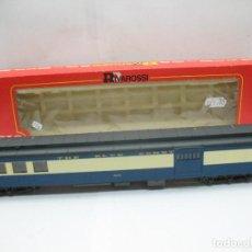 Trenes Escala: RIVAROSSI REF: 2647 - FURGÓN AMERICANO THE BLUE COMET FAYE - ESCALA H0. Lote 99927575