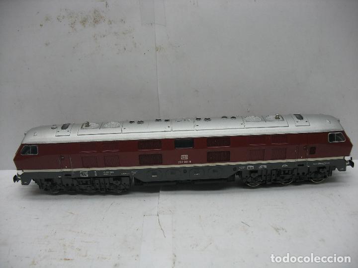 RIVAROSSI - LOCOMOTORA DIESEL DE LA DB 232 001-8 CORRIENTE ALTERNA - ESCALA H0 (Juguetes - Trenes a Escala H0 - Rivarossi H0)