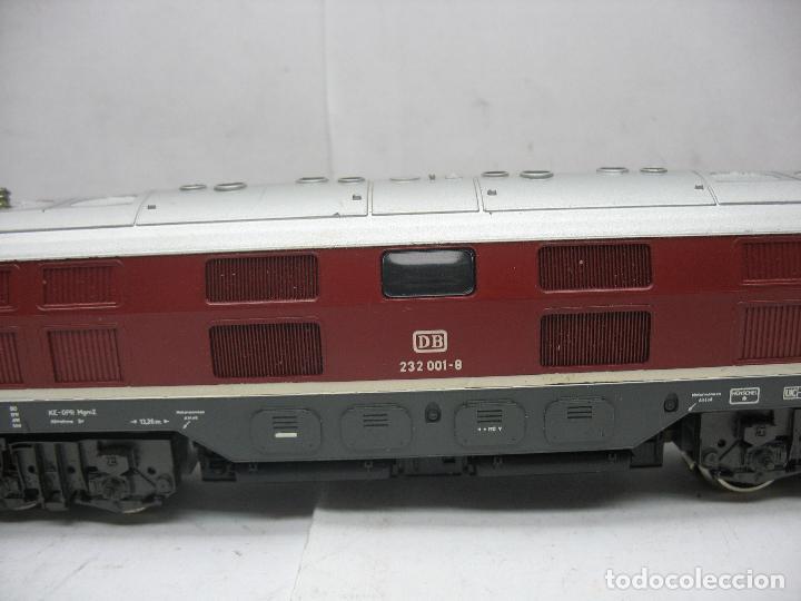 Trenes Escala: Rivarossi - Locomotora Diesel de la DB 232 001-8 corriente alterna - Escala H0 - Foto 3 - 108048387