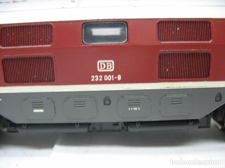Trenes Escala: Rivarossi - Locomotora Diesel de la DB 232 001-8 corriente alterna - Escala H0 - Foto 4 - 108048387