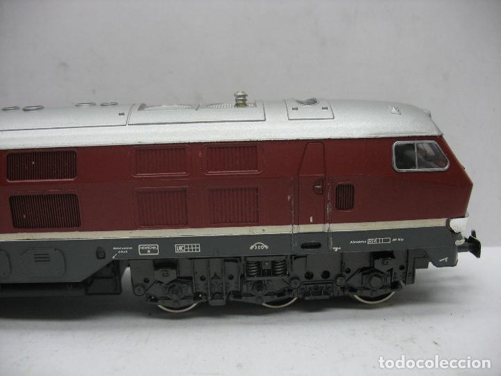 Trenes Escala: Rivarossi - Locomotora Diesel de la DB 232 001-8 corriente alterna - Escala H0 - Foto 5 - 108048387