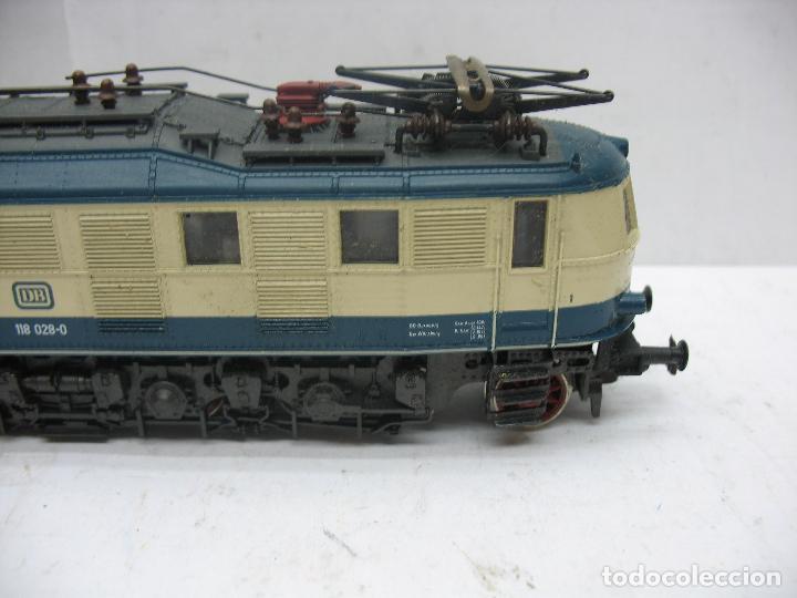 Trenes Escala: Rivarossi - Locomotora eléctrica de la DB 118 028-0 corriente continua - Escala H0 - Foto 4 - 112420175