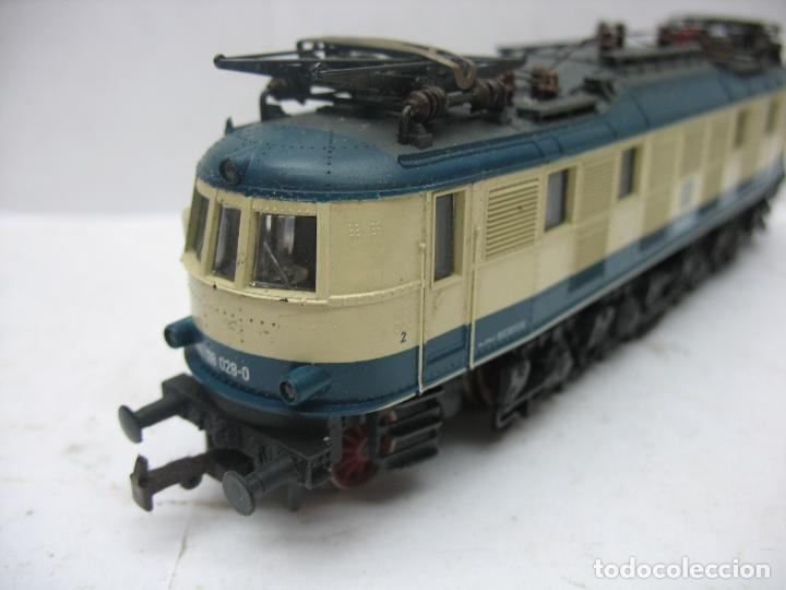 Trenes Escala: Rivarossi - Locomotora eléctrica de la DB 118 028-0 corriente continua - Escala H0 - Foto 6 - 112420175