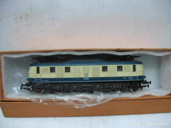 Trenes Escala: Rivarossi - Locomotora eléctrica de la DB 118 028-0 corriente continua - Escala H0 - Foto 8 - 112420175