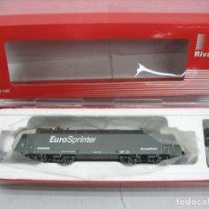 Trenes Escala: RIVAROSSI REF: HR2257 - LOCOMOTORA ELÉCTRICA SIEMENS EURO SPRINTER CORRIENTE CONTINUA - ESCALA H0. Lote 112513799