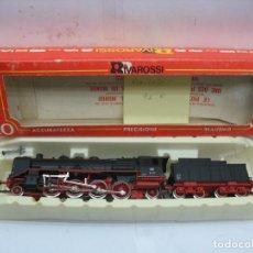 Trenes Escala: RIVAROSSI - LOCOMOTORA DE VAPOR CON TENDER DE LA DB 39 127 CORRIENTE CONTINUA - ESCALA H0. Lote 126262111
