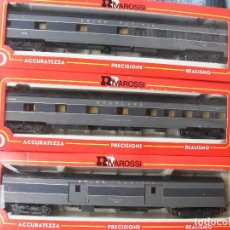 Trenes Escala - composicón 3 coches viajeros USA rivarossi - 123320591
