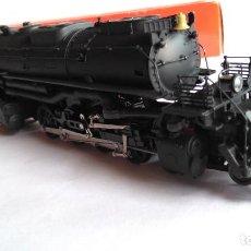 Trenes Escala: RIVAROSSI H0 LOCOMOTORA VAPOR CON TENDER BIG BOY 4-8-8-4 UNION PACIFIC 4002.REF 1585.VÁLIDA IBERTREN. Lote 131746654