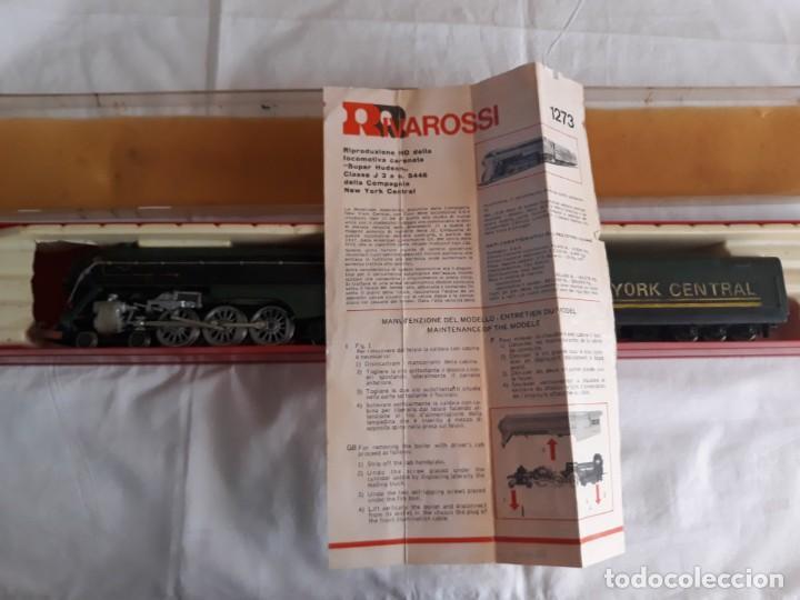 ESTUCHE LOCOMOTORA RIVAROSSI 1273 CON VAGÓN NEW YORK CENTRAL (Juguetes - Trenes a Escala H0 - Rivarossi H0)