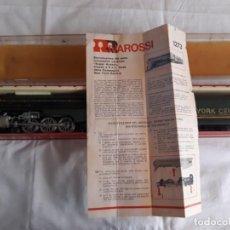 Trenes Escala: ESTUCHE LOCOMOTORA RIVAROSSI 1273 CON VAGÓN NEW YORK CENTRAL. Lote 132719194