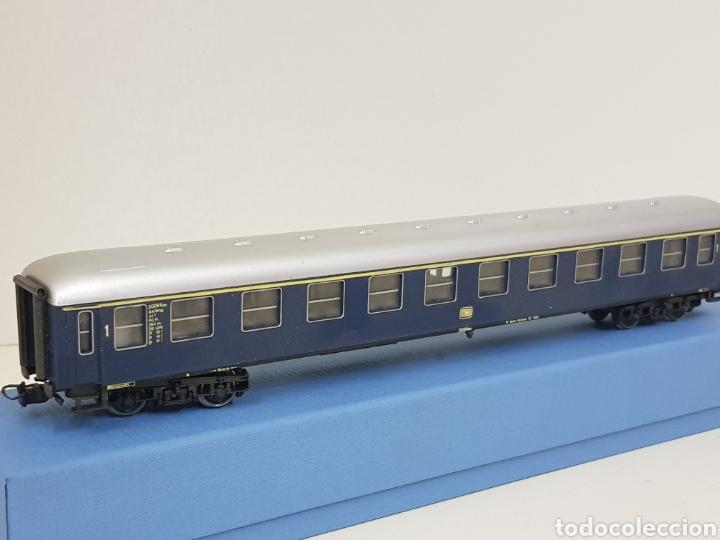 Trenes Escala: Río Barosa vagón del ATP alemán azul escala H0 primera clase de 29 cm escala exacta - Foto 2 - 134181930