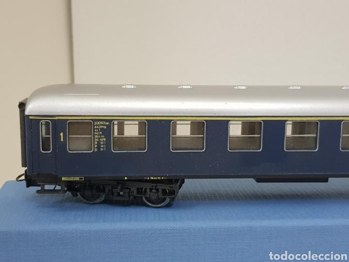 Trenes Escala: Río Barosa vagón del ATP alemán azul escala H0 primera clase de 29 cm escala exacta - Foto 3 - 134181930