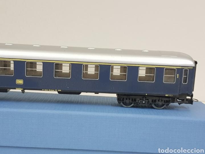Trenes Escala: Río Barosa vagón del ATP alemán azul escala H0 primera clase de 29 cm escala exacta - Foto 4 - 134181930