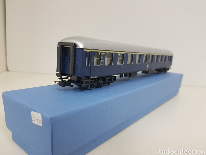 Trenes Escala: Río Barosa vagón del ATP alemán azul escala H0 primera clase de 29 cm escala exacta - Foto 5 - 134181930