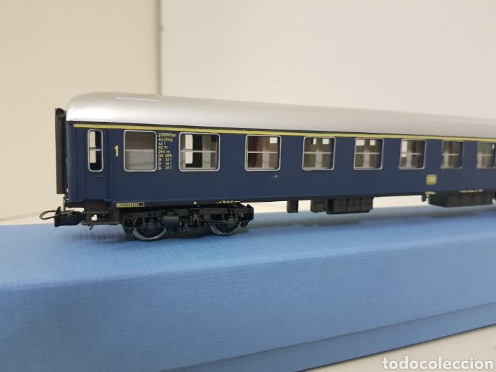 Trenes Escala: Río Barosa vagón del ATP alemán azul escala H0 primera clase de 29 cm escala exacta - Foto 6 - 134181930