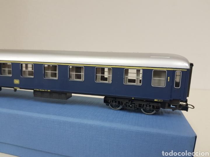 Trenes Escala: Río Barosa vagón del ATP alemán azul escala H0 primera clase de 29 cm escala exacta - Foto 7 - 134181930