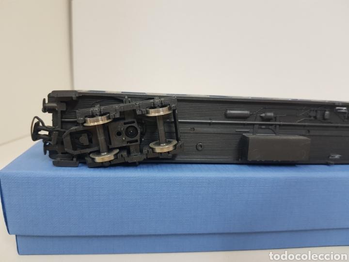 Trenes Escala: Río Barosa vagón del ATP alemán azul escala H0 primera clase de 29 cm escala exacta - Foto 8 - 134181930