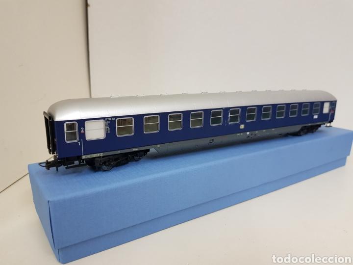 Trenes Escala: Rivarossi wagon de la segunda clase azul de la DB alemana München escala H0 corriente continua 30cm - Foto 8 - 137399890