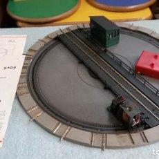 Trenes Escala: ROVAROSSI REF 5104 /PLATAFORMA GIRATORIA. Lote 138756926