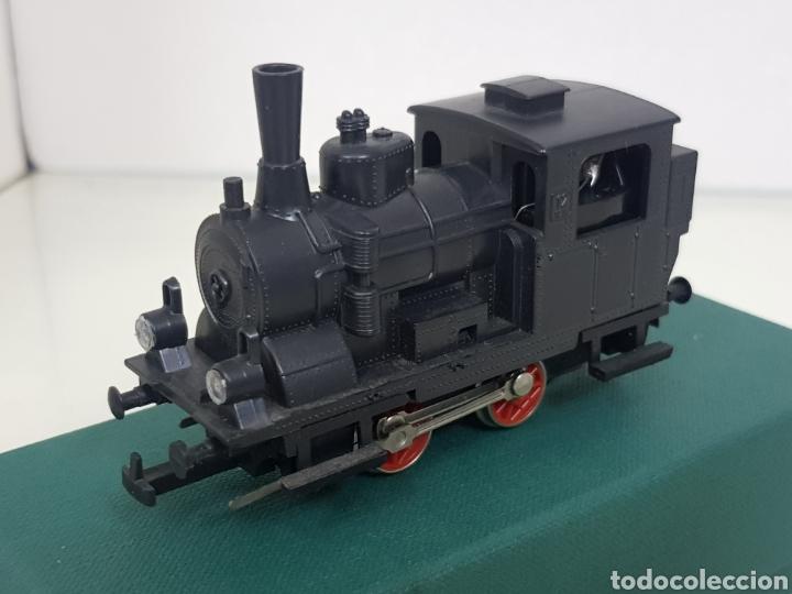 Trenes Escala: Locomotora muy ruidosa rivarossi 10 cm escala H0 corriente continua de vapor - Foto 2 - 147999548