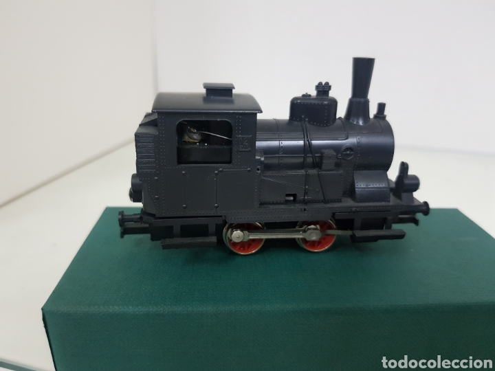 Trenes Escala: Locomotora muy ruidosa rivarossi 10 cm escala H0 corriente continua de vapor - Foto 5 - 147999548